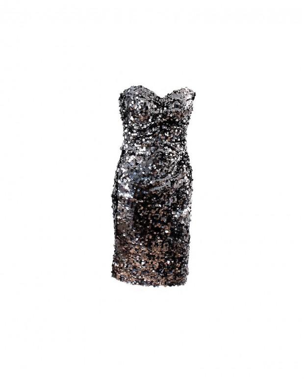 Dolce&Gabbana-Sequin-strapless-Evening-dress1