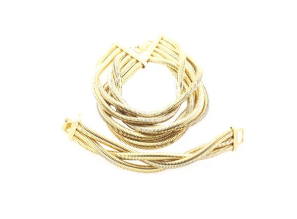 Vintage-Debra-Yohai-1980-Gooseneck-Necklace-Bracelet3