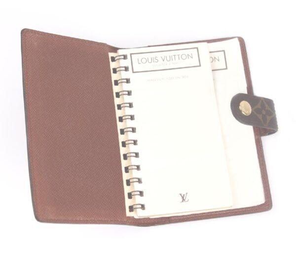 vintage Louis Paris Vuitton Malletier address calendar book