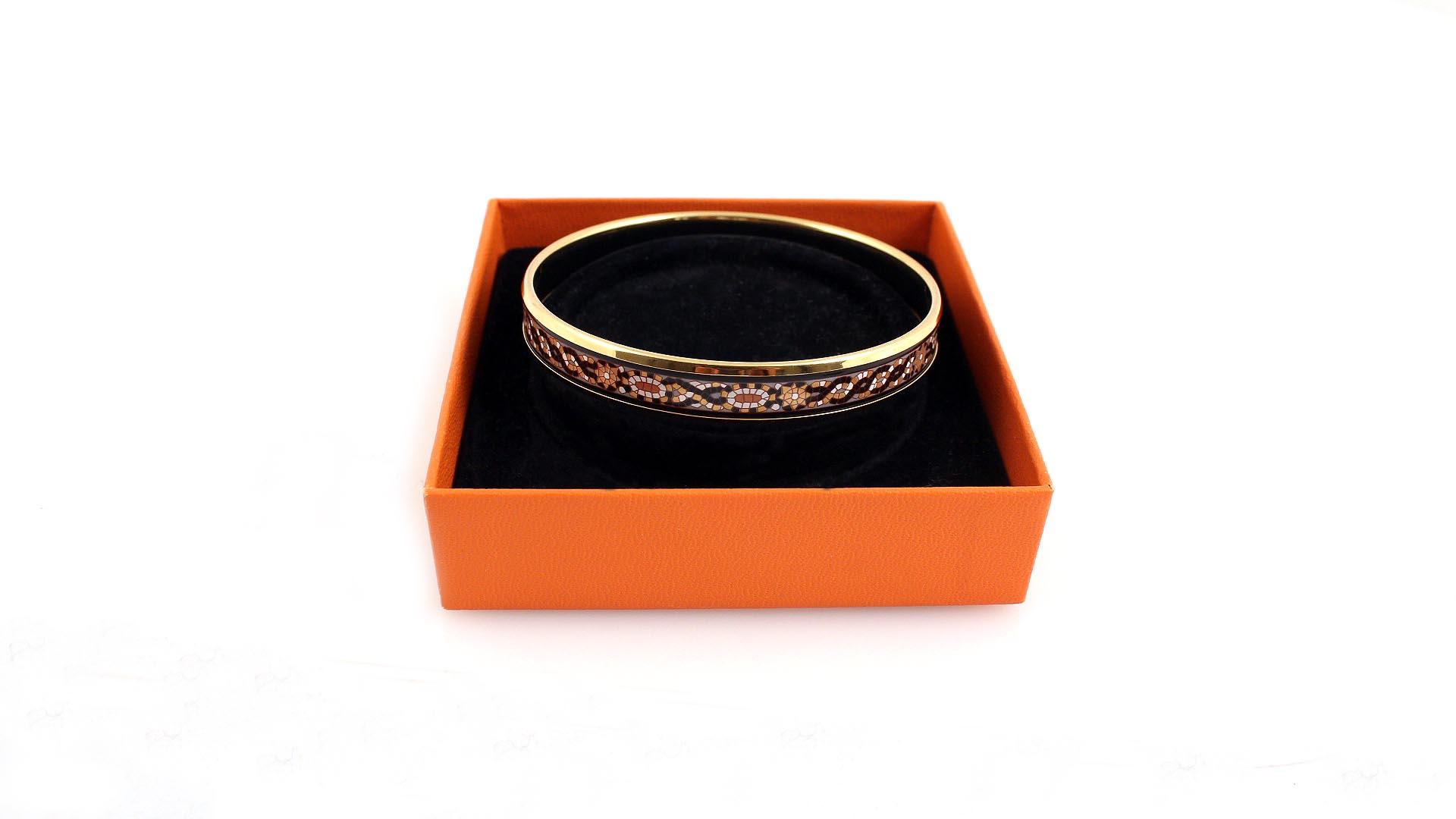 Mens bracelet gold plated