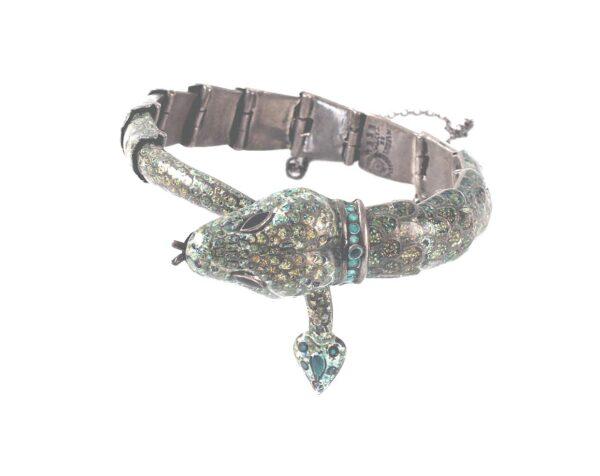Rare-Margot-de-Taxco-enamel-sterling-silver-snake-bracelet_01