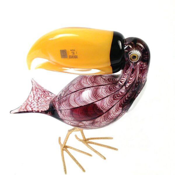 Vintage Murano Blown Glass Birds - Ass-4042